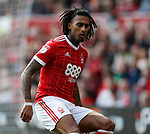 Armand Traore of Nottingham Forest during the Championship match at the City Ground Stadium, Nottingham. Picture date 30th September 2017. Picture credit should read: Simon Bellis/Sportimage