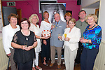 Killarney Musical Society celebrated their 30th birthday in the Corkerys Bar, Killarney last Friday night. In the photo some of the longest members L-R Doreen Brosnan, Betty Rohan, Orna Cleary O'Shea, Pam Brosnan, Michael Browne, Phil Spillane, Ann O'Shea, Fergal Cleary and Nanette O'Leary.