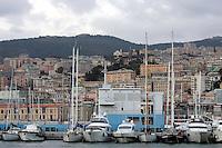 Veduta di Genova. <br /> Cityscape of Genoa.<br /> UPDATE IMAGES PRESS/Riccardo De Luca