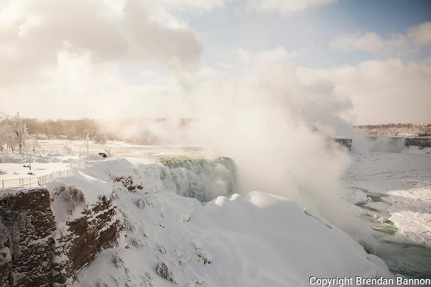Niagara Falls from the American side. Brendan Bannon.