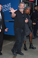 NEW YOK, NY - NOVEMBER 9: Mel Gibson seen after an appearance on Good Morning America promoting his new movie Daddy's Home 2 in New York City on November 9, 2017. Credit: RW/MediaPunch /NortePhoto.com