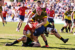 Spain's Guillaume Rouet during Rugby Europe Championship 2017 match between Spain and Belgium in Madrid. March 18, 2017. (ALTERPHOTOS/Borja B.Hojas)