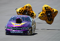 Jul, 22, 2012; Morrison, CO, USA: NHRA pro stock driver Vincent Nobile during the Mile High Nationals at Bandimere Speedway. Mandatory Credit: Mark J. Rebilas-