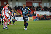 Neil Danns of Bury during Stevenage vs Bury, Sky Bet EFL League 2 Football at the Lamex Stadium on 9th March 2019