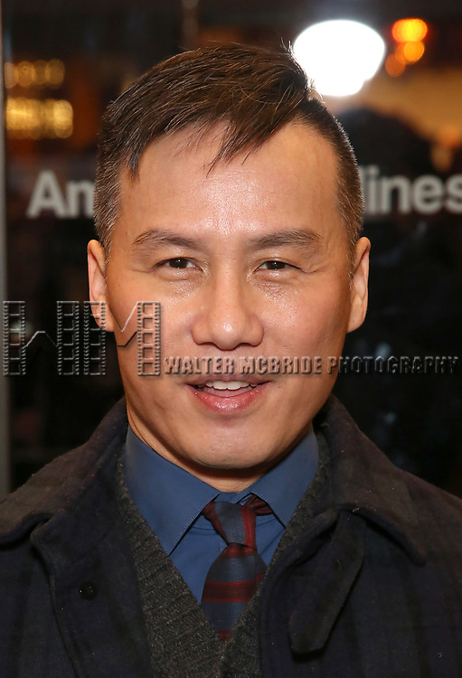 "B.D. Wong attends the Broadway Opening Night Performance of ""John Lithgow: Stories by Heart"" at the American Airlines Theatre on January 11, 2018 in New York City."