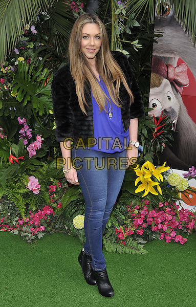 LONDON, ENGLAND - MARCH 30: Michelle Heaton attends the &quot;Rio 2&quot; VIP film screening, Vue West End cinema, Leicester Square, on Sunday March 30, 2014 in London, England, UK.<br /> CAP/CAN<br /> &copy;Can Nguyen/Capital Pictures