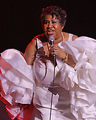 BOCA RATON FL - APRIL 22: Aretha Franklin performs at Mizner Park Ampitheatre on April 22, 2005 in Boca Raton, Florida. : Credit Larry Marano © 2005