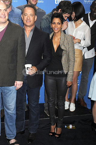 TORONTO, ON - SEPTEMBER 09: Tom Hanks and Halle Berry at 'Cloud Atlas' press conference during the 2012 Toronto International Film Festival held at TIFF Bell Lightbox on September 9, 2012 in Toronto, Ontario. ©mpi01/MediaPunch Inc.