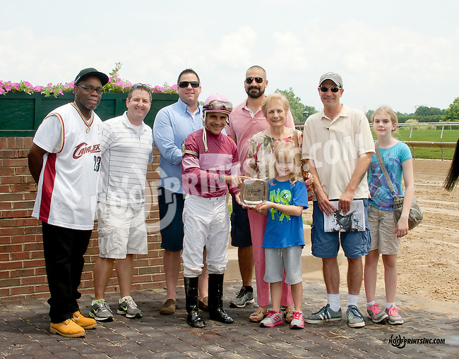 How Convenient winning at Delaware Park on 7/12/14