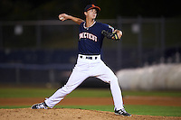 Connecticut Tigers pitcher Logan Longwith (13) delivers a pitch during the second game of a doubleheader against the Brooklyn Cyclones on September 2, 2015 at Senator Thomas J. Dodd Memorial Stadium in Norwich, Connecticut.  Connecticut defeated Brooklyn 2-1.  (Mike Janes/Four Seam Images)