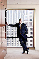 Portraits of Walter Bettinger, CEO of  Charles Schwab 2009