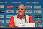 Mark Peters (CEO, Gold coast 2018 Commonwealth games corporation). Team Scotland press conference. Main press centre. Gold Coast 2018. Queensland. Australia. 04/04/2018. ~ MANDATORY CREDIT Garry Bowden/SIPPA - NO UNAUTHORISED USE - +44 7837 394578