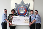 Drogheda Fire and Rescue Calendar Cheque Presentation