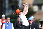 17 April 2016: Virginia Tech's Allison Woodward. The Second Round of the Atlantic Coast Conference's Women's Golf Championship was held at Sedgefield Country Club in Greensboro, North Carolina.