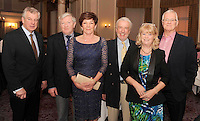 Barry Jackson, Joseph and Margaret O'Reilly, Terry McCoy, Redbank House, Miriam Ahern and John Toner,  at the Irish Hotels Federation Conference 'President's Dine Around' event in The  Malton Hotel , Killarney,  on Monday  night. Picture: MacMonagle, Killarney