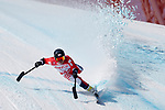 Hiraku Misawa (JPN),<br /> MARCH 10, 2018 - Alpine Skiing : <br /> Men's Downhill Standing <br /> at Jeongseon Alpine Centre  <br /> during the PyeongChang 2018 Paralympics Winter Games in Pyeongchang, South Korea. <br /> (Photo by Yusuke Nakanishi/AFLO SPORT)