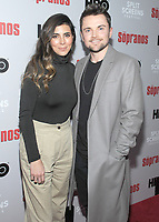 NEW YORK, NEW YORK - JANUARY 09:  Jamie-Lynn Sigler and Robert Iler  attends the 'The Sopranos' 20th Anniversary Panel Discussion at SVA Theater on January 09, 2019 in New York City. <br /> CAP/MPI/JP<br /> ©JP/MPI/Capital Pictures
