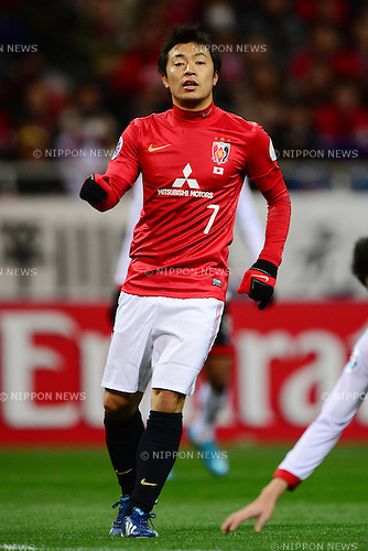 Tsukasa Umesaki (Reds),.MARCH 12, 2013 - Football / Soccer :.AFC Champions League Group F match between Urawa Red Diamonds 4-1 Muangthong United at Saitama Stadium 2002 in Saitama, Japan. (Photo by AFLO)