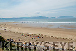 Inch Beach in the sunshine on Saturday.