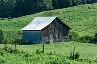 Rustic barn, Pleasant View, Tennessee, USA.