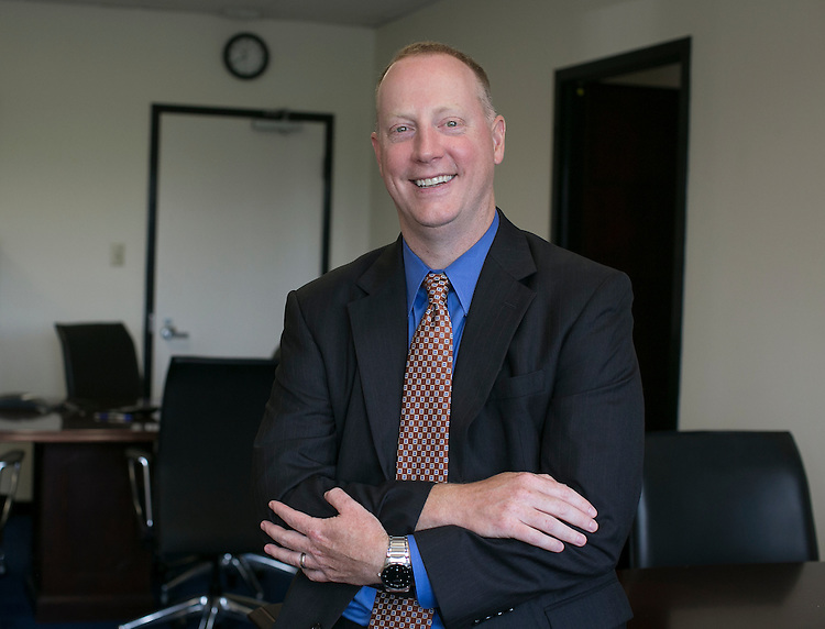 UNITED STATES - JUNE 18 - Dr. Patrick Conway, Deputy Administrator for Innovation & Quality at the Centers for Medicare and Medicaid Services, is pictured in his office at the Department of Human Services in Washington D.C. on Thursday, June 17. 2015.(Photo By Al Drago/CQ Roll Call)