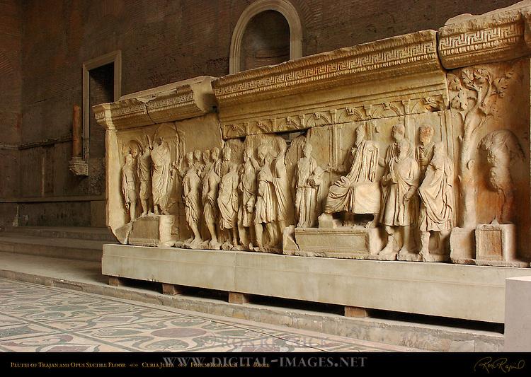 Plutei of Trajan Curia Julia Forum Romanum Rome