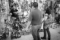 Roberto Daniel Garcia Hernandez. Hardware store owners in Mercado Hidalgo,  Mexico DF, Mexico