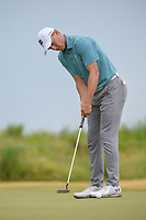 Jordan Spieth (USA) watches his birdie attempt on 1 during round 4 of the AT&T Byron Nelson, Trinity Forest Golf Club, at Dallas, Texas, USA. 5/20/2018.<br /> Picture: Golffile | Ken Murray<br /> <br /> All photo usage must carry mandatory copyright credit (© Golffile | Ken Murray)