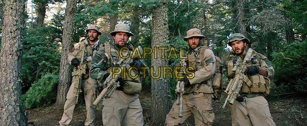 Taylor Kitsch, Mark Wahlberg, Ben Foster, Emile Hirsch<br /> in Lone Survivor (2013) <br /> *Filmstill - Editorial Use Only*<br /> CAP/NFS<br /> Image supplied by Capital Pictures