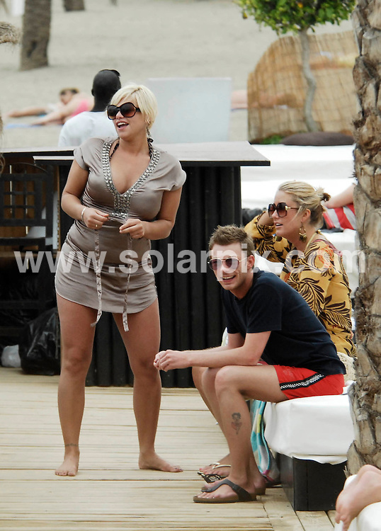 **ALL ROUND PICTURES FROM SOLARPIX.COM**.**WORLDWIDE SYNDICATION RIGHTS**.Jade Goody and friends enjoy the Spanish sunshine on a break to Marbella this weekend..JOB REF:    4528    JWC        DATE: 25.08.07.**MUST CREDIT SOLARPIX.COM OR DOUBLE FEE WILL BE CHARGED* *UNDER NO CIRCUMSTANCES IS THIS IMAGE TO BE REPRODUCED FOR ANY ONLINE EDITION WITHOUT PRIOR PERMISSION*