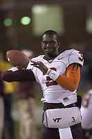 20 October 2005:  Ike Whitaker (3)..The Virginia Tech Hokies defeated the Maryland Terrapins 28-9 at Byrd Stadium in College Park, MD.
