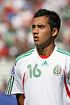 02 July 2007: Mexico's Adrian Aldrete. At the National Soccer Stadium, also known as BMO Field, in Toronto, Ontario, Canada. Mexico's Under-20 Men's National Team defeated Gambia's Under-20 Men's National Team 3-0 in a Group C opening round match during the FIFA U-20 World Cup Canada 2007 tournament.