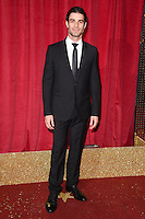 Juan Pablo Yepez<br /> arrives for the British Soap Awards 2016 at Hackney Empire, London.<br /> <br /> <br /> &copy;Ash Knotek  D3124  28/05/2016