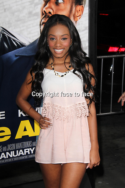 HOLLYWOOD, CA - January 13: Imani Hakim at the &quot;Ride Along&quot; World Premiere, TCL Chinese Theater, Hollywood, January 13, 2014. <br /> Credit: MediaPunch/face to face<br /> - Germany, Austria, Switzerland, Eastern Europe, Australia, UK, USA, Taiwan, Singapore, China, Malaysia, Thailand, Sweden, Estonia, Latvia and Lithuania rights only -