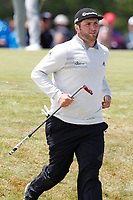 Jon Rahm (ESP) finishes putting on the 7th hole during the second round of the 118th U.S. Open Championship at Shinnecock Hills Golf Club in Southampton, NY, USA. 15th June 2018.<br /> Picture: Golffile | Brian Spurlock<br /> <br /> <br /> All photo usage must carry mandatory copyright credit (&copy; Golffile | Brian Spurlock)