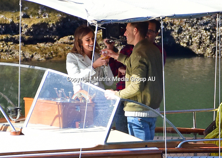 1 July, 2016 <br /> SYDNEY, AUSTRALIA<br /> <br /> EXCLUSIVE PICTURES<br /> Bachelorette Georgia Love  Boat date in a Halvorsen on the Hawkesbury River,Sydney, NSW<br /> <br /> *ALL WEB USE MUST BE CLEARED*<br /> <br /> Please contact prior to use:  <br /> <br /> +61 2 9211-1088 or email images@matrixmediagroup.com.au <br /> <br /> Note: All editorial images subject to the following: For editorial use only. Additional clearance required for commercial, wireless, internet or promotional use.Images may not be altered or modified. Matrix Media Group makes no representations or warranties regarding names, trademarks or logos appearing in the images.
