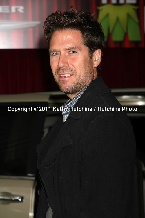 "LOS ANGELES - NOV 12:  Alexis Denisof arrives at the ""Muppets"" World Premiere at El Capitan Theater on November 12, 2011 in Los Angeles, CA"