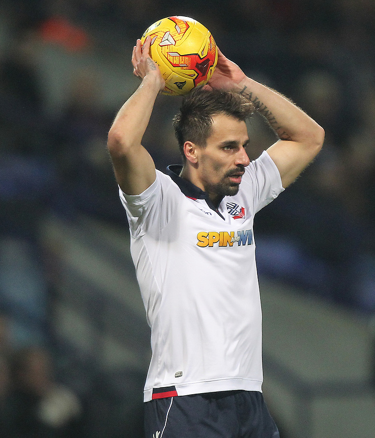 Bolton Wanderers Filipe Morais<br /> <br /> Photographer Mick Walker/CameraSport<br /> <br /> The EFL Sky Bet League One - Bolton Wanderers v Rochdale - Tuesday 14th February 2017 - Macron Stadium - Bolton<br /> <br /> World Copyright &copy; 2017 CameraSport. All rights reserved. 43 Linden Ave. Countesthorpe. Leicester. England. LE8 5PG - Tel: +44 (0) 116 277 4147 - admin@camerasport.com - www.camerasport.com
