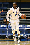 27 October 2013: Alexis Jones. The Duke University Blue Devils played their annual preseason Blue White women's college basketball game at Cameron Indoor Stadium in Durham, North Carolina.