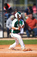 Farmingdale State Rams Nick Attardi (13) at bat during the first game of a doubleheader against the FDU-Florham Devils on March 15, 2017 at Lake Myrtle Park in Auburndale, Florida.  Farmingdale defeated FDU-Florham 6-3.  (Mike Janes/Four Seam Images)