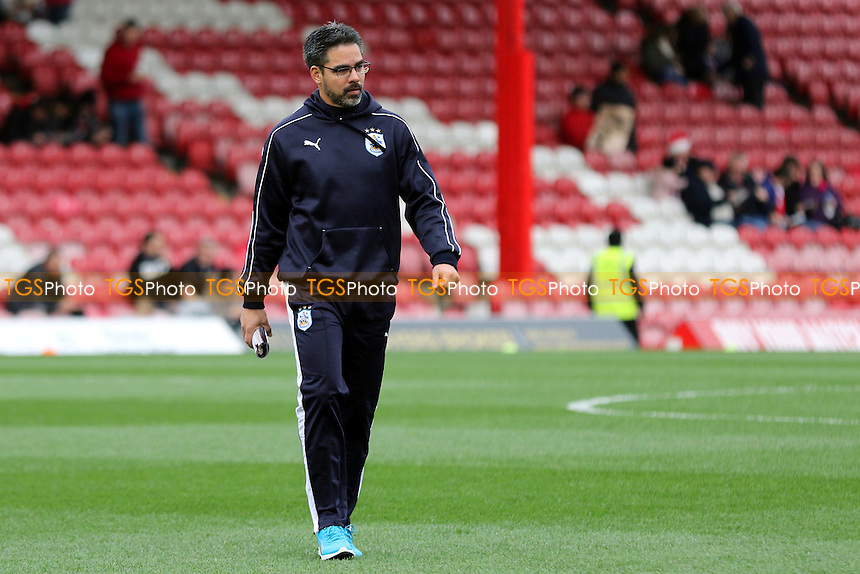 Huddersfield Town Manager, David Wagner during Brentford vs Huddersfield Town, Sky Bet Championship Football at Griffin Park, London, England on 19/12/2015