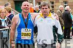 William Guiney  and Marcus Howlett runners at the Kerry's Eye Tralee, Tralee International Marathon and Half Marathon on Saturday.