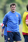 Assistant coach Curt Onalfo on Sunday, May 14th, 2006 at SAS Soccer Park in Cary, North Carolina. The United States Men's National Soccer Team held a training session as part of their preparations for the upcoming 2006 FIFA World Cup Finals being held in Germany.