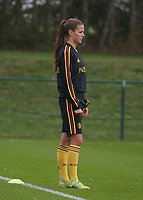 20191006 TUBIZE: Red Flames' Shari van Belle is pictured at the Open Training of Red Flames on Sunday 6th of October 2019, Tubize, Belgium PHOTO SPORTPIX.BE | SEVIL OKTEM