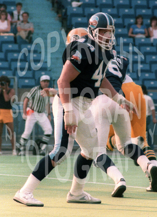 Mike Hameluck Toronto Argonauts. Photo F. Scott Grant