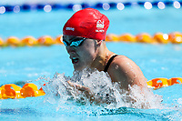 Picture by Alex Whitehead/SWpix.com - 08/04/2018 - Commonwealth Games - Swimming - Optus Aquatics Centre, Gold Coast, Australia - Jocelyn Ulyett of England competes in the Women's 100m Breaststroke heats.