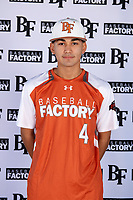 Raul Aragon (4) of Paschal High School in Fort Worth, Texas during the Baseball Factory All-America Pre-Season Tournament, powered by Under Armour, on January 12, 2018 at Sloan Park Complex in Mesa, Arizona.  (Mike Janes/Four Seam Images)