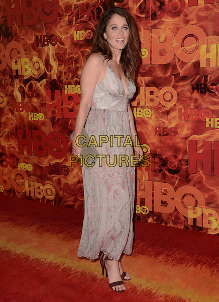 20 September  2015 - West Hollywood, California - Robin Tuney. Arrivals for the 2015 HBO Emmy Party held at the Pacific Design Center. <br /> CAP/ADM/BT<br /> &copy;BT/ADM/Capital Pictures