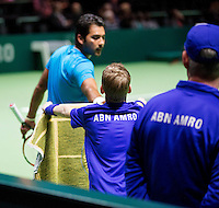 Februari 09, 2015, Netherlands, Rotterdam, Ahoy, ABN AMRO World Tennis Tournament, Aisam-Ul-Hap Qureshi (PAK)<br /> Photo: Tennisimages/Henk Koster