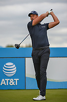 Henrik Stenson (SWE) watches his tee shot on 7 during round 3 of the AT&T Byron Nelson, Trinity Forest Golf Club, Dallas, Texas, USA. 5/11/2019.<br /> Picture: Golffile | Ken Murray<br /> <br /> <br /> All photo usage must carry mandatory copyright credit (© Golffile | Ken Murray)
